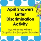 April Showers Spring Color by the Code Discrimination - K