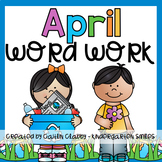 April Word Work
