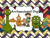 Fossil Review Powerpoint/Archaeologist Dig
