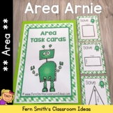 Area Arnie Finding Area Task Cards and Printables
