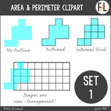 Area & Perimeter Graphics {Clipart Collection}