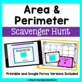 Area and Perimeter Scavenger Hunt