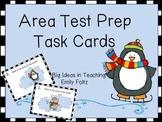Area of Irregular Polygons Test Prep Task Cards Differenti