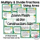 Area~Multiply Divide Fractions House Plans Theme Word Prob