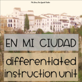 Spanish City & Town Lessons Differentiated Instruction 50