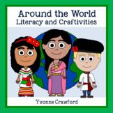 Around the World Literacy and Craftivities