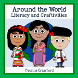 Around the World Literacy and Craftivities