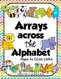 Arrays across the Alphabet 2.OA.4