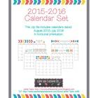 Arrow Calendars 2015-2016