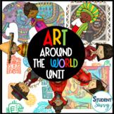 Art Around the World - Common Core Aligned