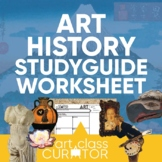 Art History Student Study Guide Worksheets