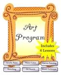Art Program - Art Activities - 6 Lessons