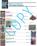 Art book - common core content - drawing, painting, artist