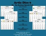 Artic Dice 6:  Vocalic /R/ Articulation Practice for Speec