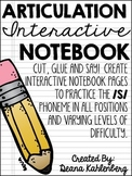 Articulation Interactive Notebook {/S/}