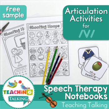 Articulation Notebooks for /v/ (FREE Sample!)