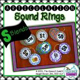 Articulation Sound Rings: S Blends (sp, st, sn, sm, sk, sw)