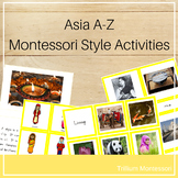 Asia A - Z Montessori Pack