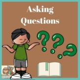 Asking Questions Strategy Posters and Printable Work Pages