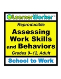 Assessing Work Skills and Behaviors
