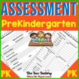 Assessment for Prekindergarten {Literacy and Math} Beginni