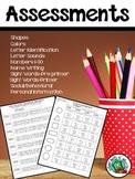 Assessments-Pre K, Kinder, Special Education