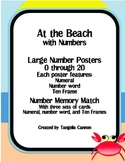 At the Beach with Numbers