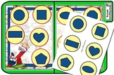 At the Playground Matching File Folder Game