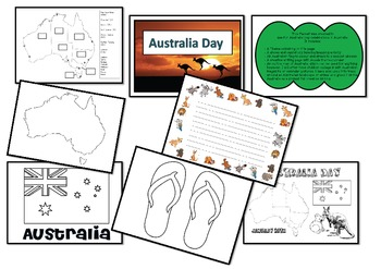 Australia Day packet
