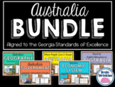 Australia Unit BUNDLE - Geography, History, Government, Ec