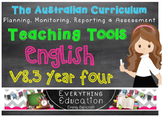 Australian Curriculum English YEAR 4 Monitoring and Planni
