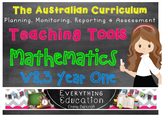 Australian Curriculum Mathematics YEAR 1 Monitoring and Pl