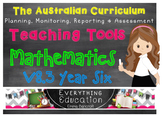 Australian Curriculum Mathematics YEAR 6 Monitoring and Pl
