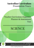 Australian Curriculum Science  Foundation(K-PP)
