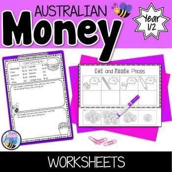 Australian Money Worksheets