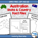 Australia State and Country Fact File
