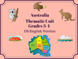 Australian Thematic Unit For Use With Grades 3-4-5