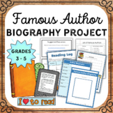 Author Study (A Comprehensive Author Study Packet)