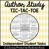 Author Study Tic-Tac-Toe (Independent Author Study Activit