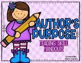 Author's Purpose - Handouts
