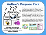 Author's Purpose Pack - CCSS Aligned