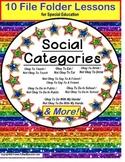 Autism CATEGORIES of Social Behavior – Okay/Not Okay SET O