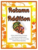 Autumn Addition Lessons and Printables