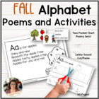 Autumn Alphabet Activities, Poems and More!