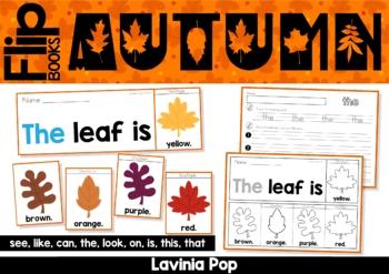 Sight Word Fluency Flip Books - Autumn