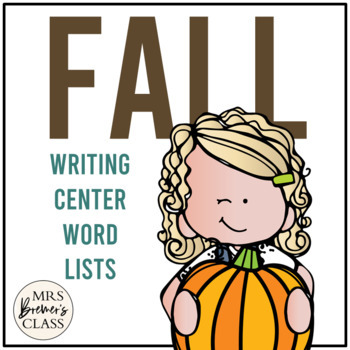 Autumn Writing Centre/Center Pages