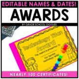 Awards and Reward Certificates