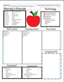 Awesome Lesson Plan Template