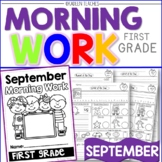 MORNING WORK -BACK TO SCHOOL COMMON CORE PART 2
