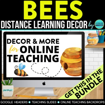 BEES Classroom Theme Packet ~ Printable Decor and More